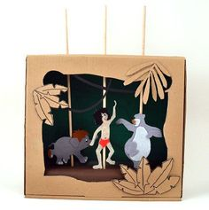 Have some Jungle fun with this Puppet Theatre!