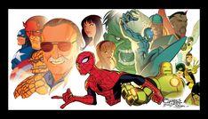 Stan Lee by KidNotorious.deviantart.com