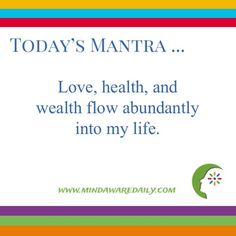Affirmations Love | Health | Wealth