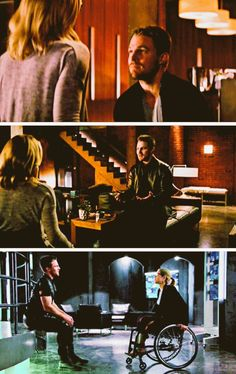 They're equals, always. #Olicity--->> this was beautiful, why did it have to end?