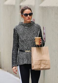 Olivia Palermo- as a native New Yorker, she does autumn fashion better than most. Obvi.