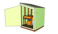 Generator Shed Plans > MyOutdoorPlans > Free Woodworking Plans and Projects, DIY Shed, Wooden Playhouse, Pergola, Bbq Shed House Plans, Wood Shed Plans, Free Shed Plans, Shed Building Plans, Cabin Plans, Garage Plans, Building Ideas, Diy Shed Kits, Diy Storage Shed Plans