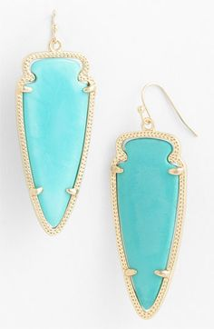 Kendra Scott 'Skylar Spear' Statement Earrings available at #Nordstrom