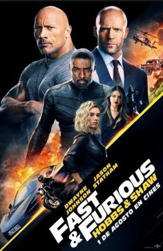 Hobbs & Shaw Directed by David Leitch. With Dwayne Johnson, Jason Statham, Idris Elba, Vanessa Kirby. Lawman Luke Hobbs and outcast Deckard Shaw form an unlikely alliance when a cyber-genetically enhanced villain threatens the future of humanity. Movies 2019, Hd Movies, Movies To Watch, Movies Online, Movie Tv, Netflix Movies, Scary Movies, Netflix Horror, Prime Movies