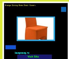 Orange Dining Room Chair Covers 073753