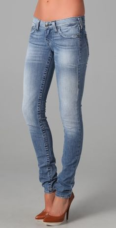 I want..  True Religion Stella Skinny Jeans, but first.. I want to be skinny enough to look good in them