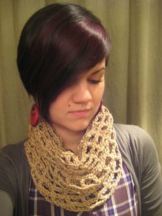 Lyndsay Infinity Scarf by Boho Boo Boutique.
