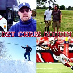 Meet Your Digital Street Team- Hello fellow Canadians! My name is Chris Goodin and I hail from the east coast in New Brunswick. I'm also the Co-Founder of the Fantasy Football Sportsbar, an @AzCardinals fan and a very proud Auxiliary member of the Royal Canadian Mounted Police. Let's talk on Twitter at @GoodinFFSB.
