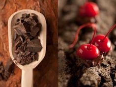 Violette - gourmet chocolate by Martin Sitta, via Behance
