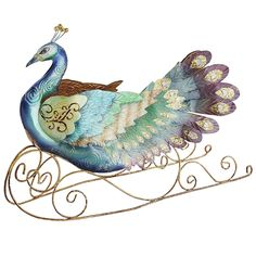 Peacock Sleigh | Pier 1 Imports