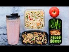 Easy Vegan Meal Prep in Under 1 Hour! (Breakfast/Lunch/Dinner) - YouTube