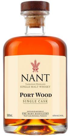 """NANT"" - Tasmanian Highland Single Malt Whisky.  v@e."