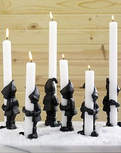 Elves Candle Holders.