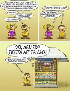 Funny Cartoons, Peanuts Comics, Humor, Funny Stuff, Funny Things, Humour, Funny Photos, Funny Humor, Comedy