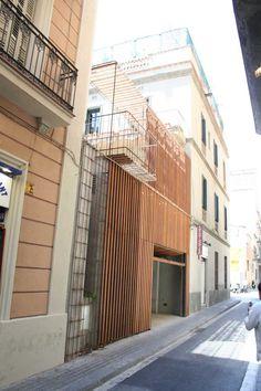 Garaje,Terraza-jardín y Piscina. Toni Gironés | TECTÓNICAblog