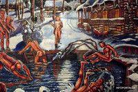Русская баня в Риге - Maskavas 254/9 Painting, Art, Art Background, Painting Art, Kunst, Paintings, Performing Arts, Painted Canvas, Drawings