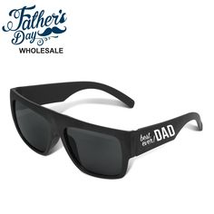 Wholesale fathers day items and school fundraising items, perfect for fathers day stall and good markup. School Fundraisers, Black Sunglasses, Best Dad, Fundraising, Fathers Day, Prints, Things To Sell, Ideas, Printmaking