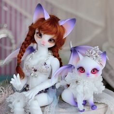 New Doll: [ Aileendoll ] Polymorph Cathy & Polymorph Lucy (+Pink Devil cat parts set)
