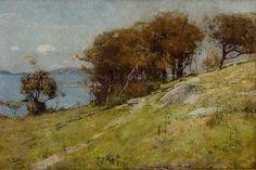 Cremorne Pastoral, Arthur Streeton (Australia 1867–1943).