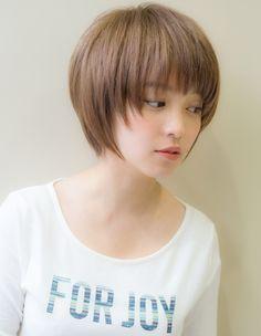 Japanese Short Hair, Asian Short Hair, Japanese Hairstyle, Asian Hair, Girl Short Hair, Short Hair With Layers, Short Hair Cuts, Mushroom Haircut, Shot Hair Styles