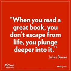 #Storytelling #Inspiration on #Pinterest ~ This Julian Barnes quote about a great book applies to all means and media of storytelling.