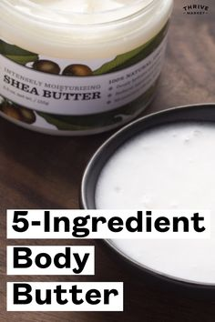 Not only does this body butter smell great, but it's luxurious, refreshing, and has amazing health benefits for your skin. Diy Body Butter, Shea Butter, Diy Beauty Essentials, Health Benefits, Health And Beauty, Moisturizer, Organic, Natural, Amazing