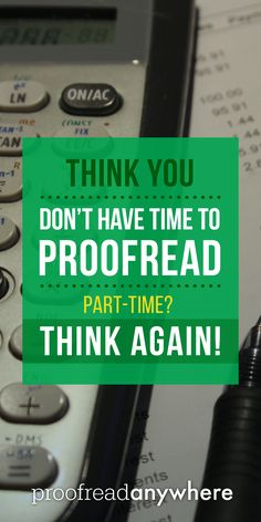 Don't trap yourself in your 9-to-5 gig! You can still run a successful side hustle (like part-time proofreading) at the same time!