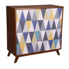 Arlequin 2 Door Sideboard, W90 cm, Multicoloured | ACHICA