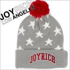 流行のニット帽もこれならかぶらない!JOYRICH ALL STAR POMP BEANIEボンボン付オールスタービーニー