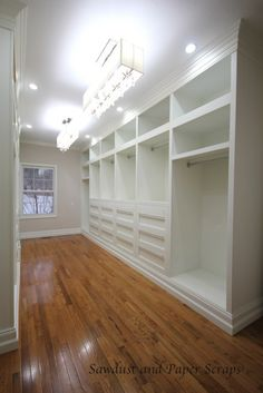 biggest closet ever. yes yes yes yes oh, what's that? I don't have enough clothes or shoes or purses to fill this up? oh darn, that means I have to go shopping.