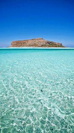 Balos Bay - Gramvousa, Crete Island, Greece