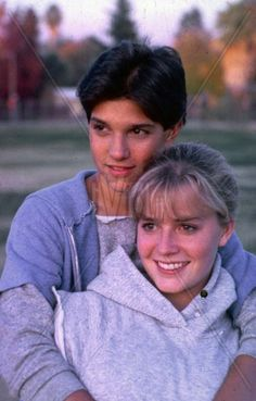 KARATE KID - Ralph Macchio & Elisabeth Shue. (Daniel and Ali)  1984 I love how Ali dumps the mean jock.