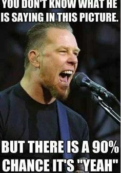 :P #metallica #meme #jameshetfield                                                                                                                                                                                 More