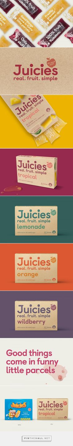 Juicies on Packaging of the World - Creative Package Design Gallery - created via https://pinthemall.net