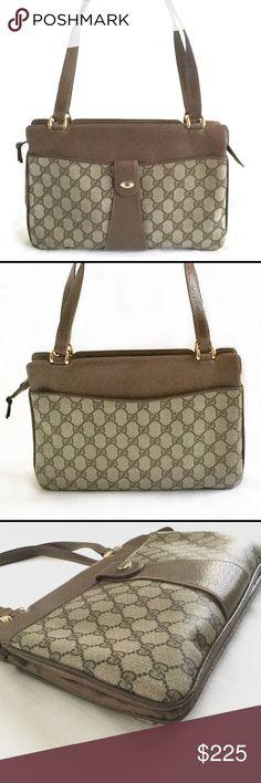 """222716c4c4 JUST IN Vintage Gucci Shoulder Bag Purse Authentic Gucci. Measures about  12"""" L x"""