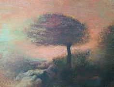"@@  Anatoly Baratynsky Original New Realism Painting ""The Evening"" 31 1/2"" High 46"" Wide Unframed"