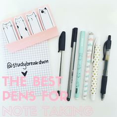 8 Best Note Taking Pens Images Best Note Taking Pens Good