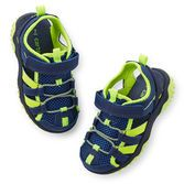 Perfect for running, jumping and playing, these breathable shoes will keep his feet comfortable at any play date.
