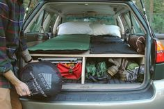 Car Camping Subaru Outback 29 New Ideas Auto Camping, Diy Camping, Camping Ideas, Camping Hacks, Motorcycle Camping, Truck Camping, Beach Camping, Camping And Hiking, Outdoor Camping