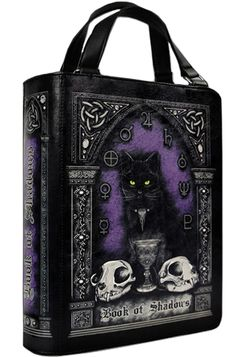 Book of Shadows Handbag, £39.99 http://www.attitudeclothing.co.uk/product_32551-123-2481_Book-of-Shadows-Handbag.htm