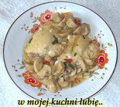 W Mojej Kuchni Lubię..: podudzia z pieczarkami..