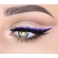 Instagrammer @Makenziewilder lines with our new waterproof so fine micro liner…