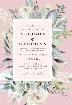Eucalyptus Charm - Wedding Invitation #invitations #printable #diy #template #wedding Wedding Invitation Background, Wedding Invitation Templates, Wedding Invitations, Chapel Wedding, Response Cards, Background Templates, Create Yourself, Charmed, Wedding Ideas
