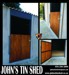 Custom Stable Gates made to order Tin Shed, Stables, Gates, Garage Doors, Outdoor Decor, Home Decor, Decoration Home, Horse Stables, Room Decor