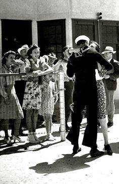 Home, 1942 sailors (please follow minkshmink on pinterest) #sailor #dancing