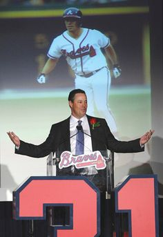 Greg Maddux - Braves retired his #31 on June 17, 2009. Cubs also retired his #31 in May 2009.