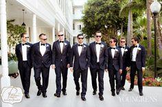 Hotel Del Coronado Wedding, Part One Beach Wedding Shoes, Diy Wedding Reception, Beach Wedding Hair, Wedding Suits, Navy Tuxedos, Wedding Couple Photos, Hotel Del Coronado, Compare And Contrast, Bride Groom