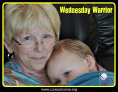 """""""I know I am blessed, and I am so thankful every day. I look for the good in each day, because it is always there."""" - Nancy, Sarcoma Foundation of America's Wednesday Warrior  http://curesarcomablog.org/2014/07/09/wednesday-warrior-nancy/  #sarcoma #inspiration #WednesdayWarrior #CureSarcoma"""