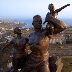 african renaissance monument   African Renaissance Monument – Dakar, Senegal