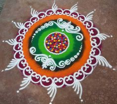 Get some of the best sanskar bharti rangoli designs in here. These best sanskar bharti rangoli designs are very popular and are made during Hindu festivals. Easy Rangoli Designs Videos, Indian Rangoli Designs, Rangoli Designs Latest, Rangoli Border Designs, Colorful Rangoli Designs, Rangoli Designs Images, Beautiful Rangoli Designs, Latest Rangoli, Mehndi Designs